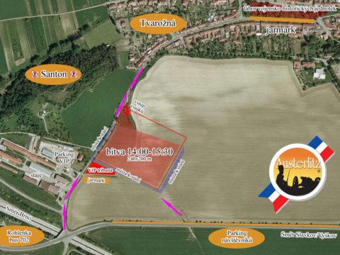 Rekonstrukce bitvy u Slavkova 2019 a program Austerlitz 2019