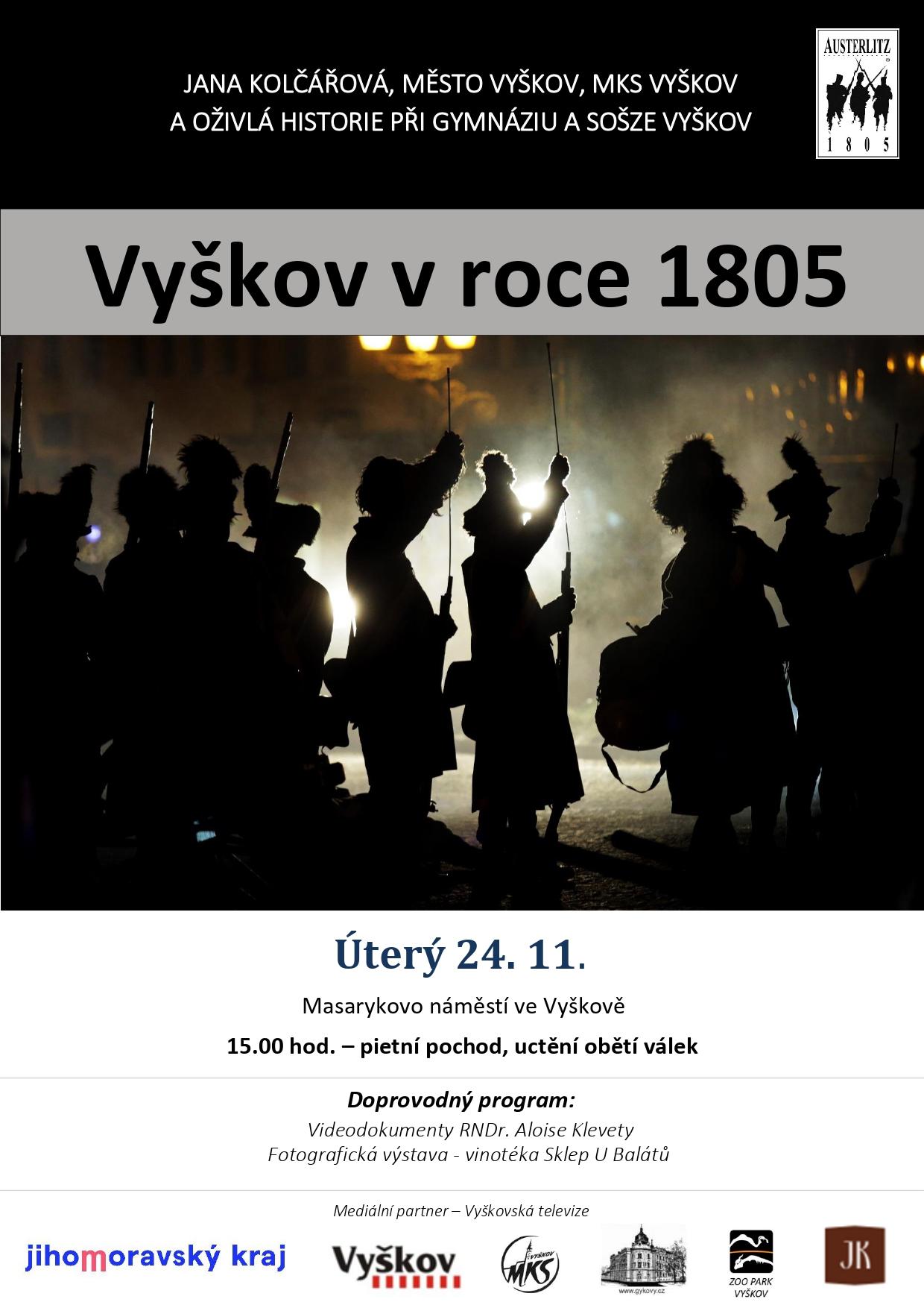 plakat vyškov 1805/2020